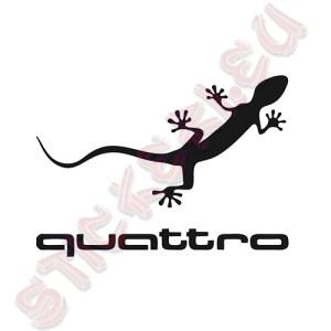 Стикер за Audi Quattro