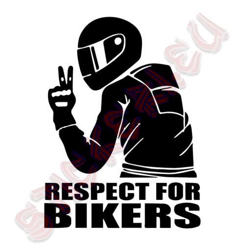 Стикер Respect For Bikers