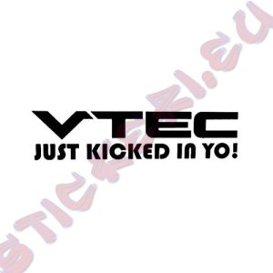 Стикер VTEC Just Kicked in Yo