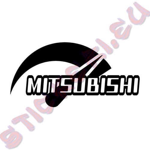 Стикер за автомобили Мitsubishi Power