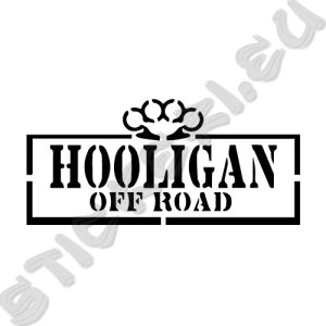 Стикер Off Road Hooligan