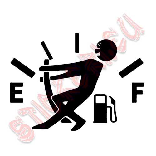 Стикер More Fuel за капака на резервоара