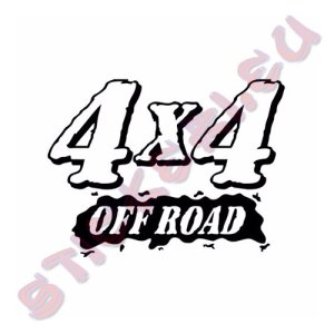 Стикер 4х4 Offroad