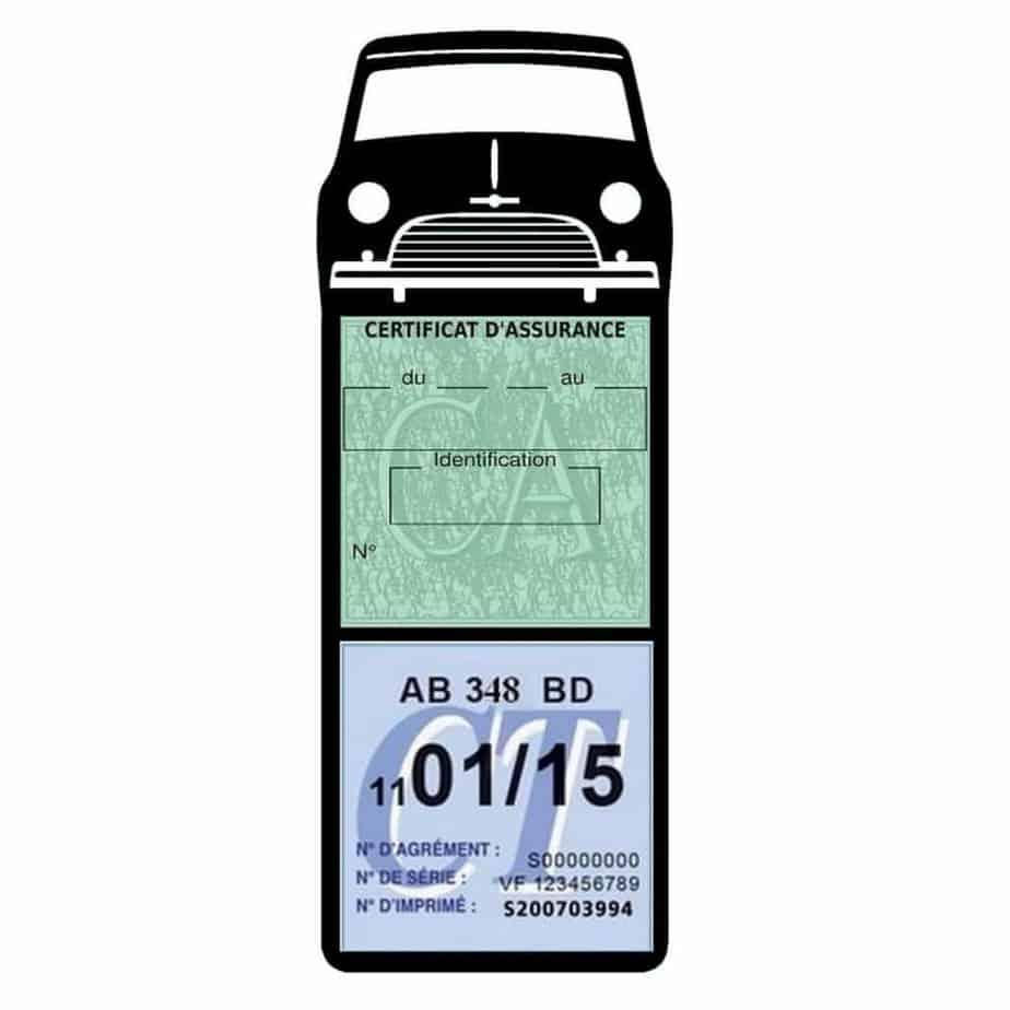 Mini Cooper Austin 1000 vignette assurance voiture noir