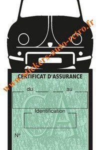 Porte assurance auto Renault Dauphine