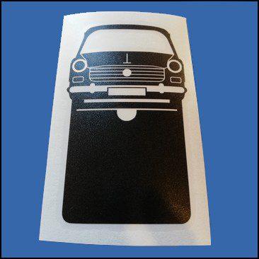 Pochette étui assurance voiture Peugeot 404