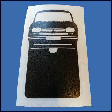 Pochette étui assurance voiture Peugeot 204