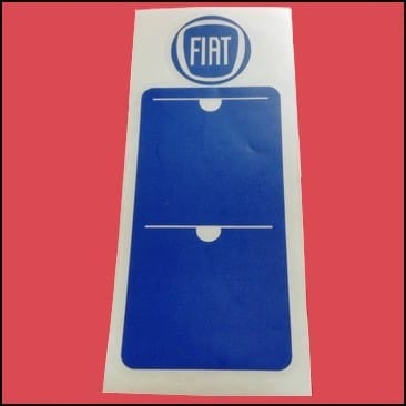 Fiat vignette assurance voiture