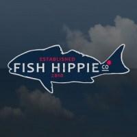 Fish Hippie Red Fish Sticker