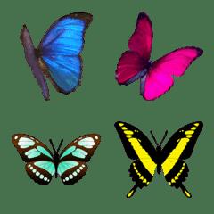 蝶絵文字11 Emojilist Lineクリエイターズ絵文字まとめサイト
