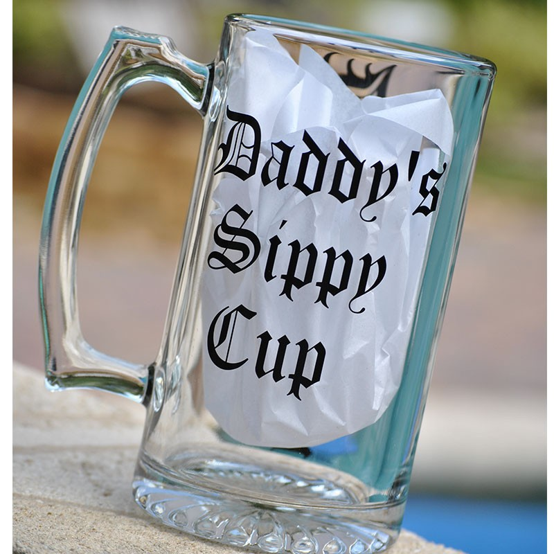 Daddys Sippy Cup Beer Mug