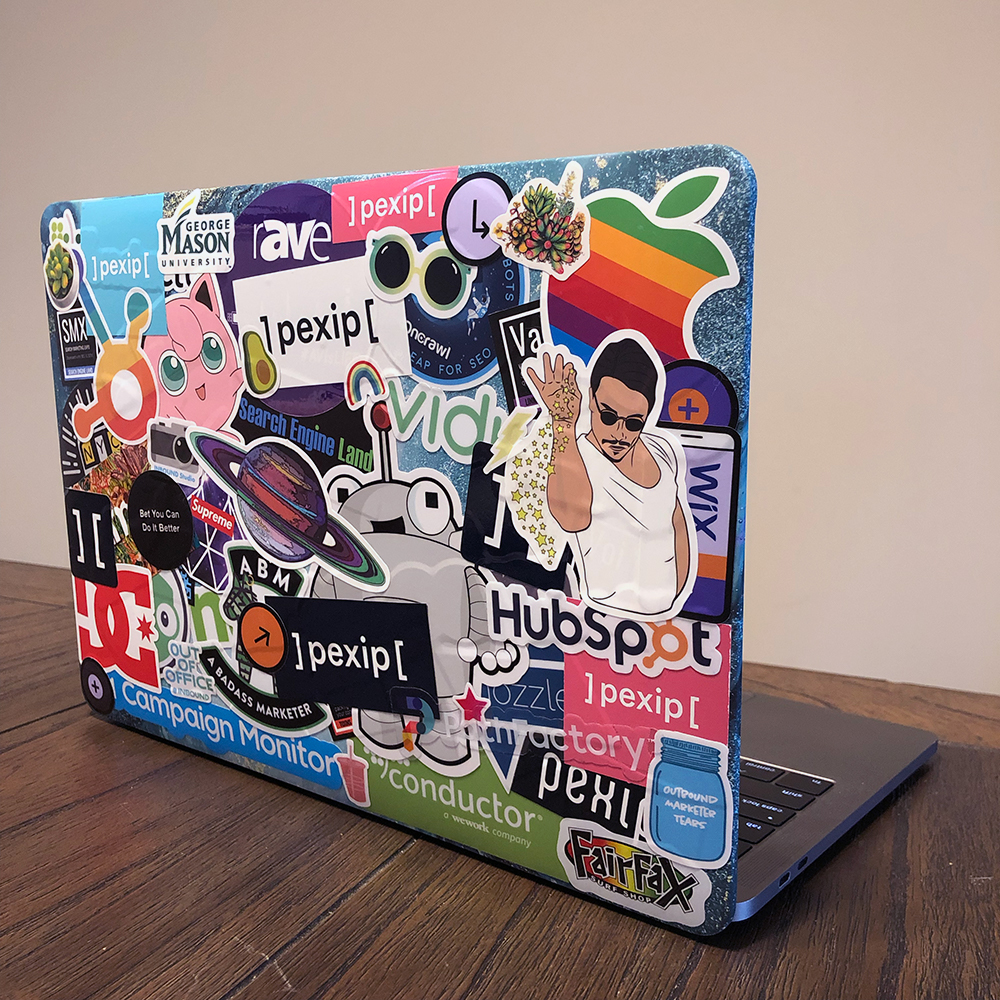 StickerSouped Laptop