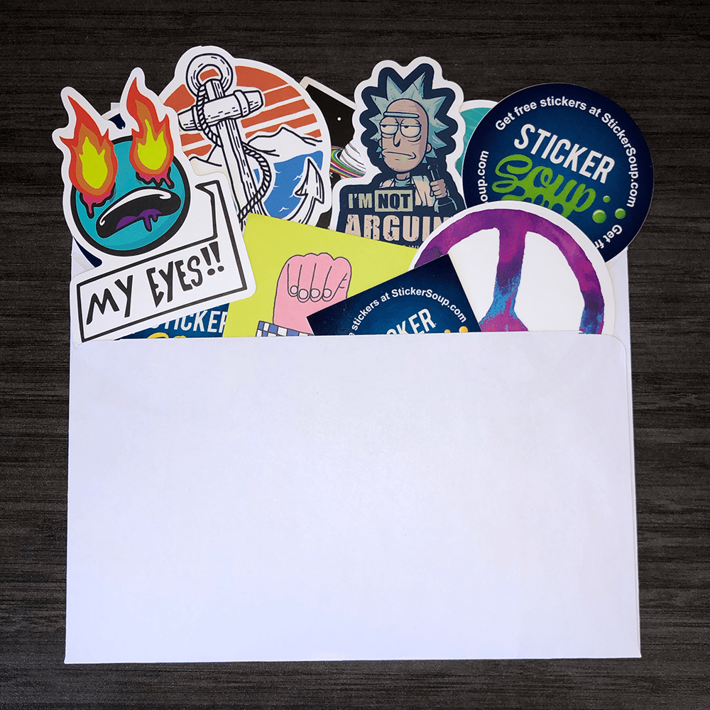 StickerSoup Pack Option 6