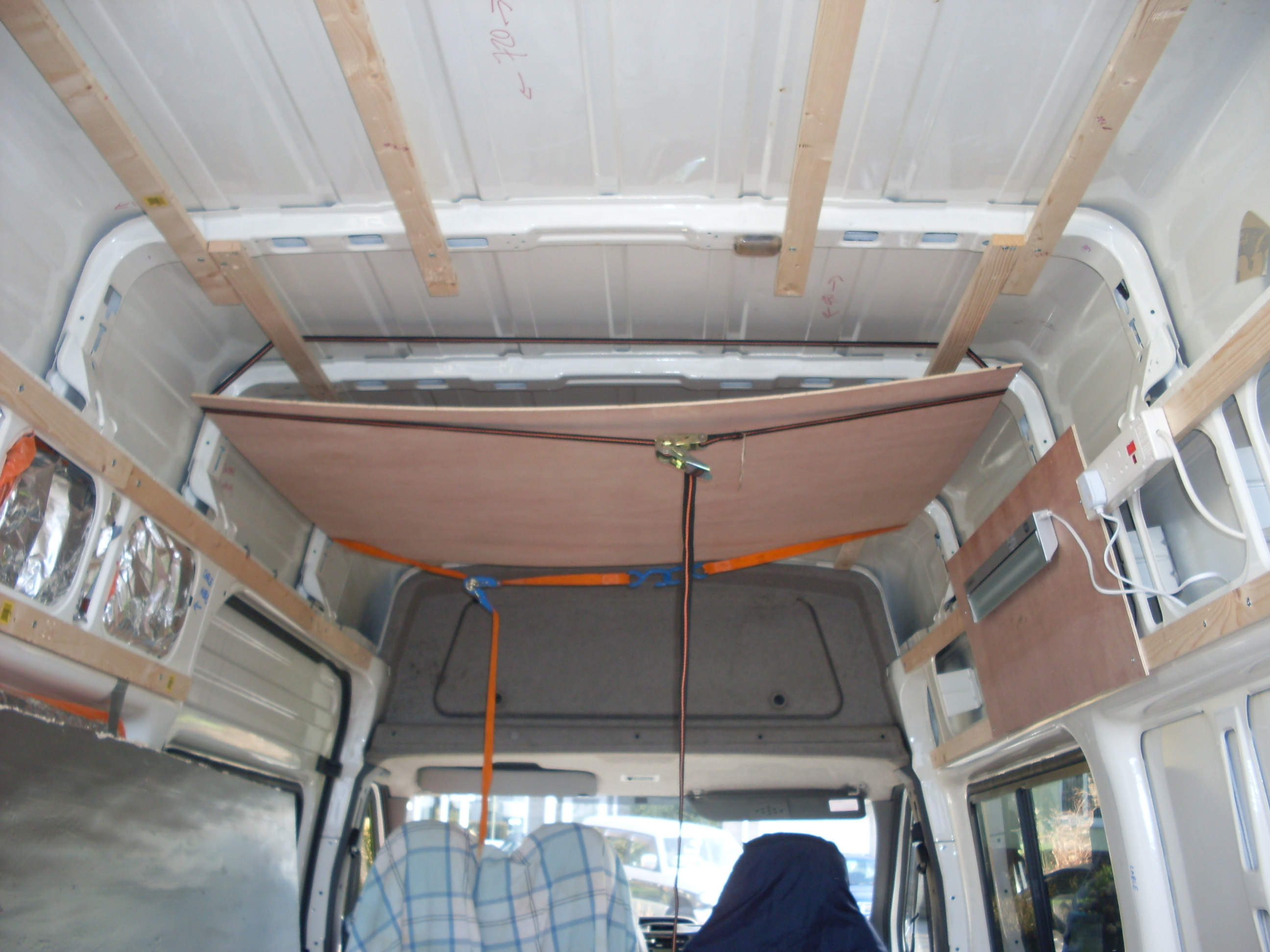 Insulating And Battening The Ford Transit Campervan