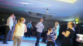 Some moves at the dinner and dance!