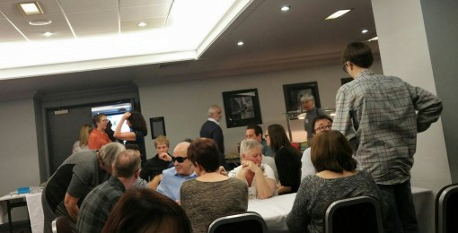 There was plenty of socialising time for all attendees