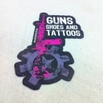 Guns Shoes and Tattoos Sticker