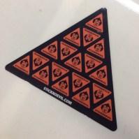 Contour Cut Sticker Sheet