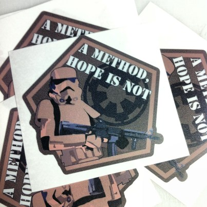 Spartan TC Contour Cut Stickers
