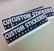Custom Stickers Bumper Sticker
