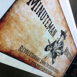 Minuteman Banner