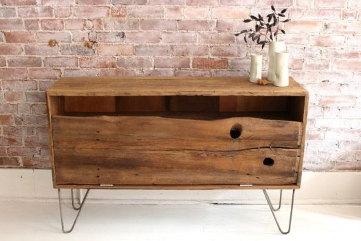 sticks and bricks reclaimed credenza