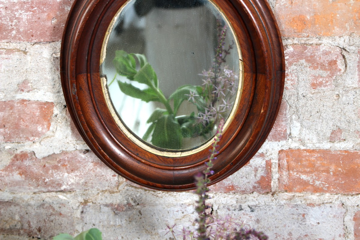 sticks and bricks furniture handmade vintage oval mirrors