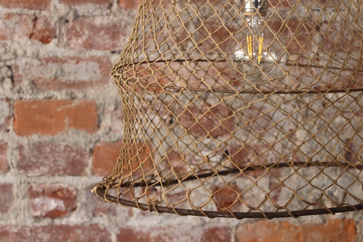 sticks and bricks Net Pendant