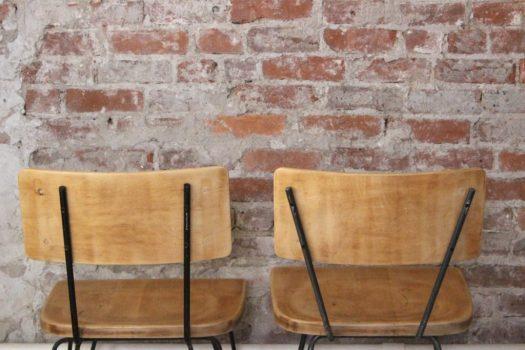 sticks and bricks dining chair