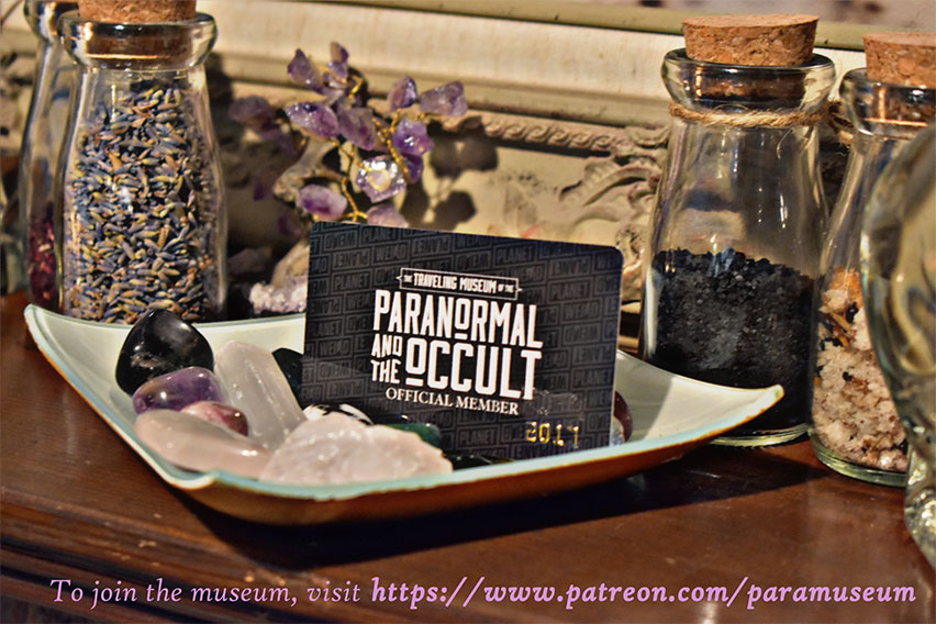Why We Love The Traveling Museum of the Paranormal and the Occult