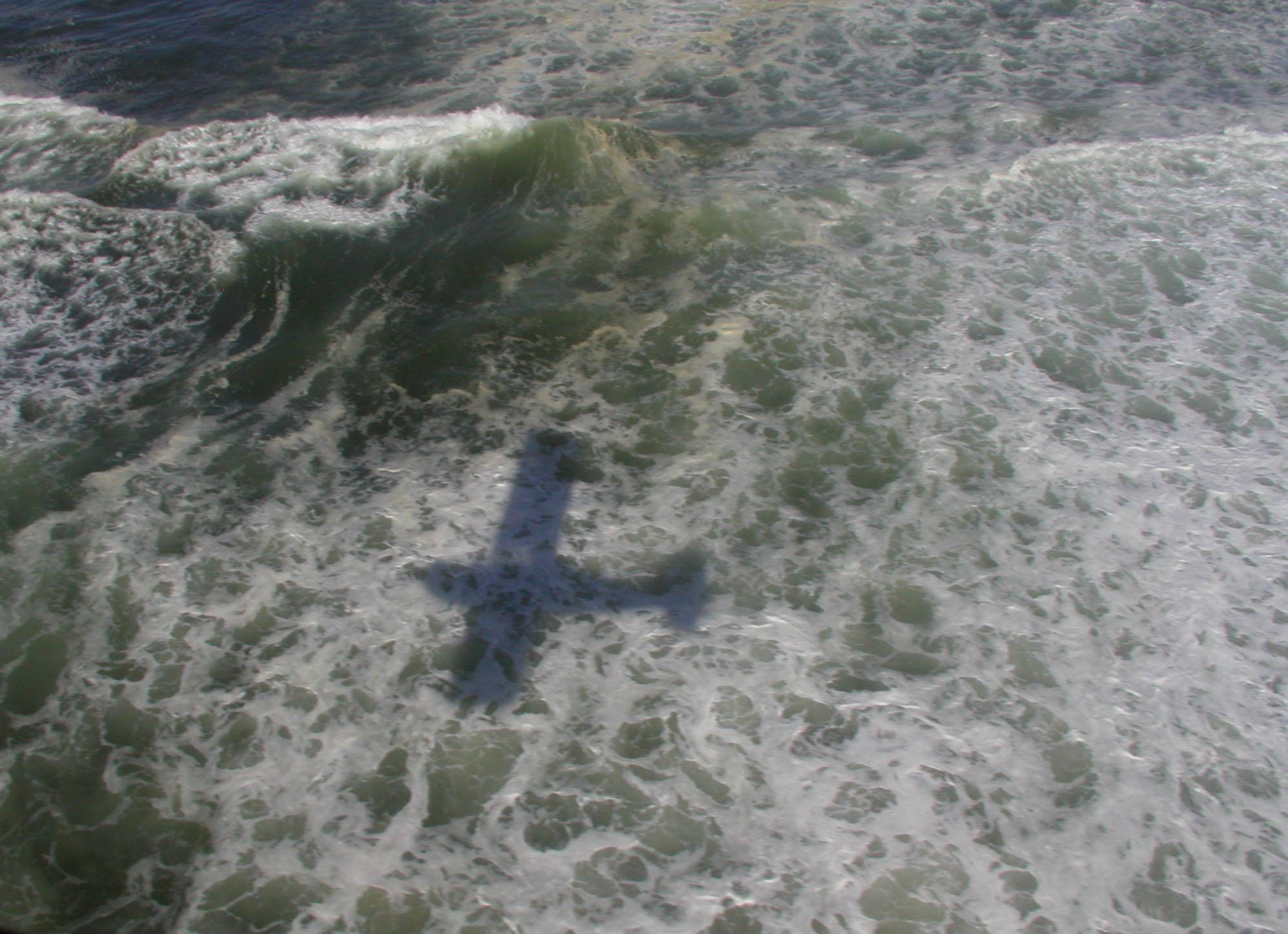 plane shadow