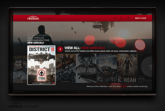 Redbox Instant Streaming TV