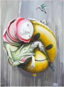 ZED1, marco buressi, urban art, stick together