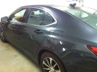 Acura Before Mobile Window Tinting