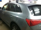 Audi Q5 Before Auto Window Tinting