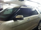New Explorer After Door Window Tint