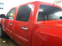Texus Cotton Silverado After Truck Tint