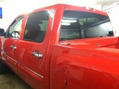 Texus Cotton Silverado Before Truck Tint