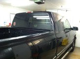GMC 1500 Before Specialty Window Tinting