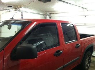 red-colorado-before-truck-window-tinting