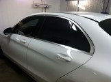 C300 After Auto Window Tinting 1