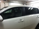 New Sportage Before Mobile Auto Tinting