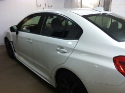 Subaru WRX Before Car Window Tinting