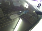 Car With finger in old tint