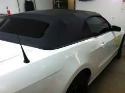 Convertible After Stripping and new tint