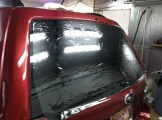 Prep SUV Hatch for tint