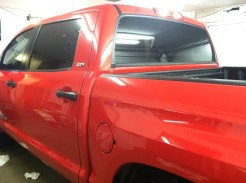 Red Truck After Tint