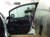 Strip Car Passenger door Tint