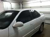 White Family Car After Auto Tinting