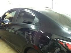 Scion Black After Auto Window Tinting